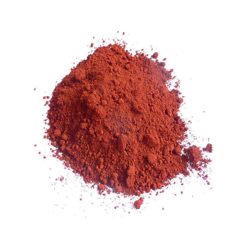 Farbpigmente Eisenoxidrot